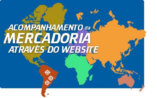 Acompanhamento da mercadoria atrav�s do website